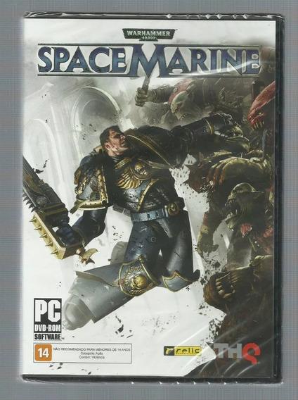 Pc Warhammer Space Marine Mídia Física Para Pc