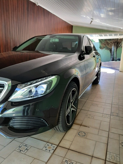Mercedes-benz Classe C 2018 1.6 Exclusive Turbo Flex 4p