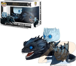 Figura Night King Y Icy Viserion Game Of Thrones Funko Pop