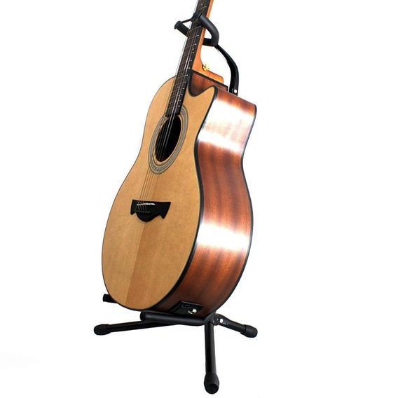 Suporte P/ Guitarra Baixo Violão Dolphin Regulagem Dobrável