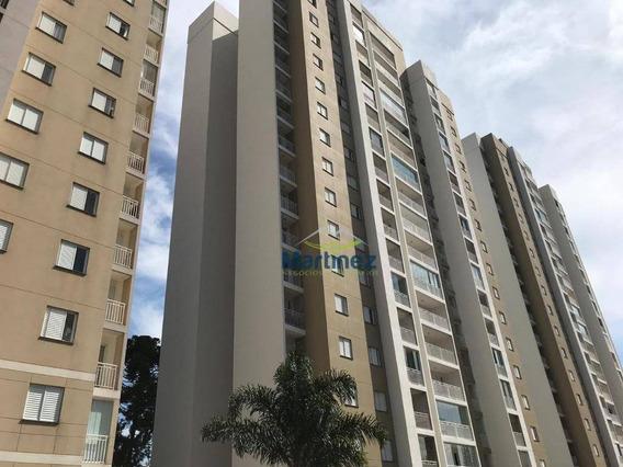 Apartamento Com 2 Dormitórios À Venda, 64 M² Por R$ 375.000 - Parque São Lucas - São Paulo/sp - Ap0863