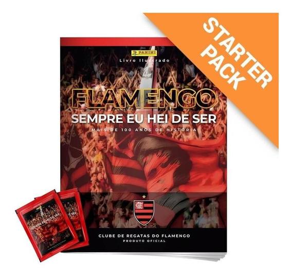 Starter Pack Flamengo - Álbum Capa Dura + 12 Envelopes