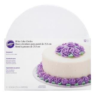 Bases Para Pastel De Carton 10 Pulgadas Wilton 2104-102