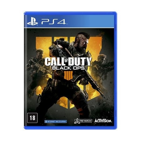 Jogo Ps4 Call Of Duty - Black Ops 4