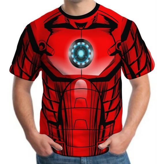 Kit 4 Camiseta Masculina Roupa Herois Atacado Revenda