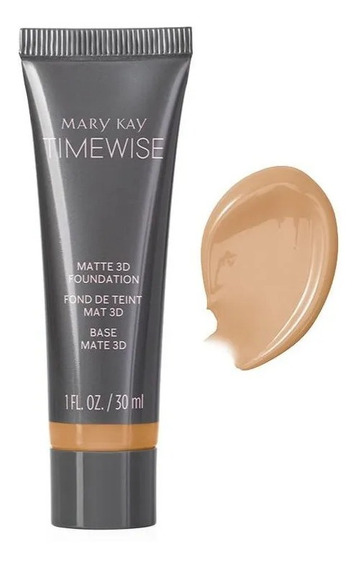 Base 3d Mary Kay Timewise Acabamento Matte Beige C120 30ml