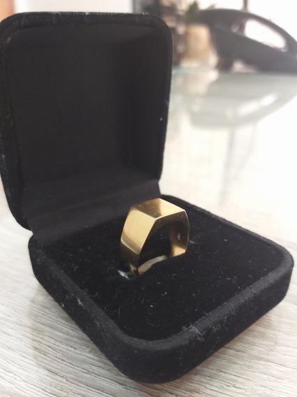 Anel De Ouro Comendador 18k