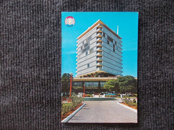 1137- Postal Paraguay 1970 Asuncion, Hotel Guarani