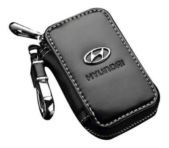 Novidade Capa Em Couro Case Porta Chaves Carro Hyundai