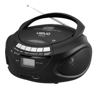 Grabadora Cd Mp3 Usb Am Fm Visivo Vpcp-8117