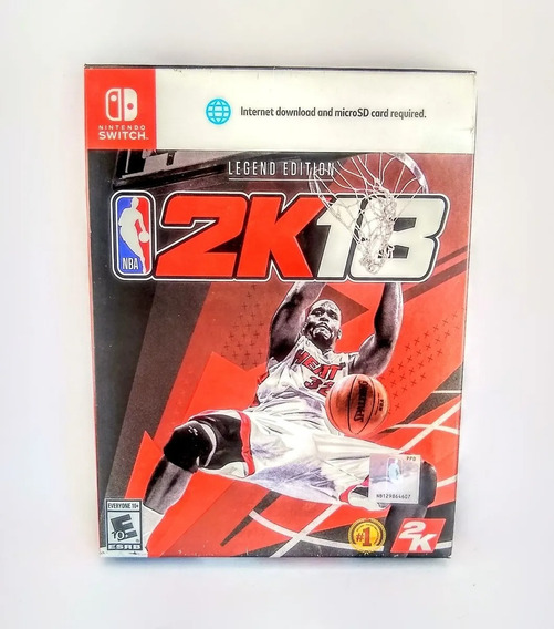 Nba 2k18 Legend Edition Nintendo Switch Novo Lacrado