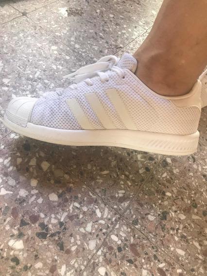 Zapatillas adidas Superarse Mujer Blancas Talle 37