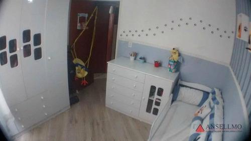 Apartamento À Venda, 60 M² Por R$ 318.000,00 - Chácara Inglesa - São Bernardo Do Campo/sp - Ap0315