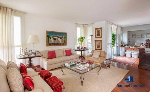 Imagem 1 de 14 de Apartamento À Venda, 196 M² Por R$ 1.150.000,00 - Real Parque - São Paulo/sp - Ap4085