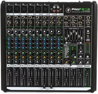 Mixer Consola Mackie Profx12 V2 12ch Efectos Usb Pro Fx12