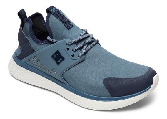 Zapatillas Dc Mod Meridian Prestige Azul!!! Coleccion 2019!