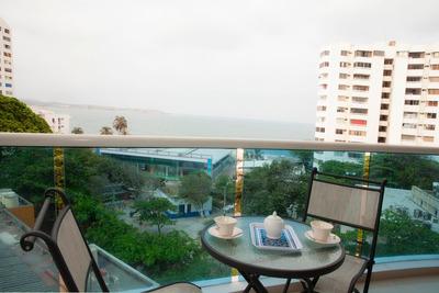 Alquiler De Apartamento En El Laguito - Bocagrande Cartagen
