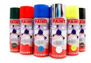 American Spray Pain Gris Plata Claro 136 Aerosol Auto