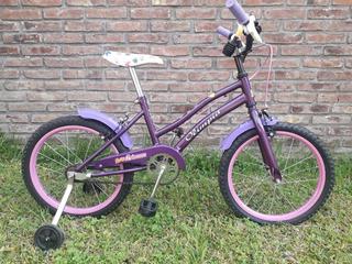 Bicicleta Olimpia Rodado 16 Niña ( Sin Uso )