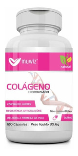 Colageno Hidrolisado 330 Mg 120 Capsulas Muwiz