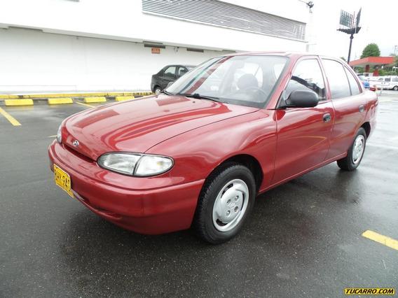 Hyundai Accent Ls Mt 1300cc Sa