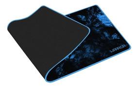 Mousepad Warrior Gamer Azul Ac303 Multilaser 70x30cm
