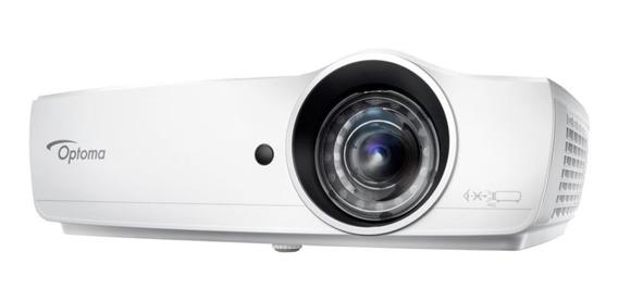 Projetor Optoma Eh460st Curta Dist 4200 Lumens Full Hd Wi-fi