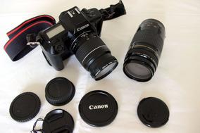 Canon Eos650 + Lentes (analógica Vintage!) Peço Reduzido!