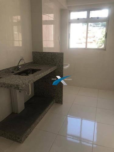 Apartamento Com 3 Dormitórios À Venda, 62 M²  - Conjunto Califórnia - Belo Horizonte/mg - Ap5543