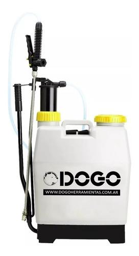 Imagen 1 de 6 de Pulverizador Fumigador Mochila Prof. 20 Lts Dogo Mm Dog18020