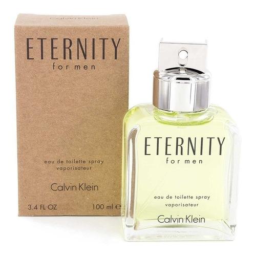 Perfume Eternity *calvin Klein* Para Hombre 100 Ml Tester