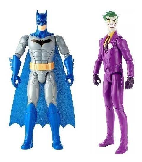 2 Muñecos Batman Y Joker Guason Figuras Articuladas 30 Cm