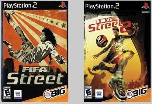 Fifa Street Ps2 Patch - Kit Dois Jogos Promoção