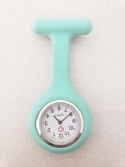 Reloj Enfermera Silicon Menta