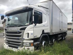 Scania P310 2016 Bau Seco Ou No Chassi Com Entrada