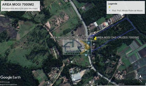 Área À Venda, 70000 M² Por R$ 250 - Vila Partenio - Mogi Das Cruzes/sp - Ar0006