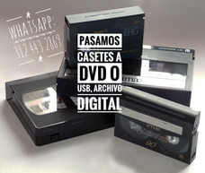 Transfer Pasar Cassettes Beta, Vhs A Cd, Dvd O Usb Bogota