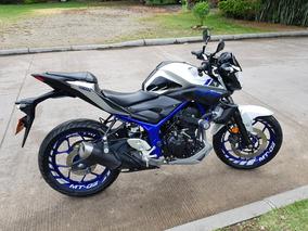 Yamaha Mt 03 17.000 Kilometros Como Nueva Defensas Especiale