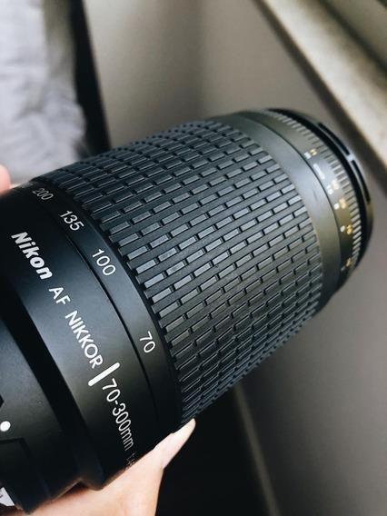 Lente Nikon Af 70-300mm 1:4.5-5.6 G