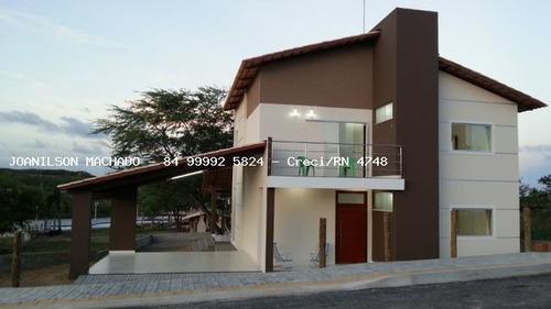 Casa Em Condomínio Para Venda Em Macaíba, Reta Tabajara - Br 304 Reta Tabajara, 4 Dormitórios, 2 Suítes, 4 Banheiros, 4 Vagas - Cas1411-l_2-1030875