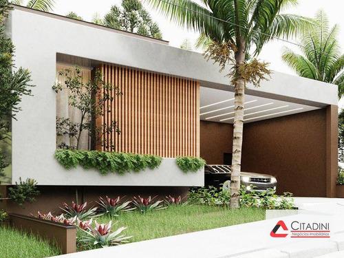 Vendo - Casa Térrea Em Condomínio Alto Padrão - Ca1831 - Ca1831