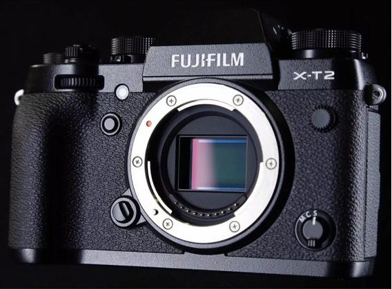 Câmera Fujifilm Xt2 Mirrorless Fuji 4k + 2 Baterias +grid
