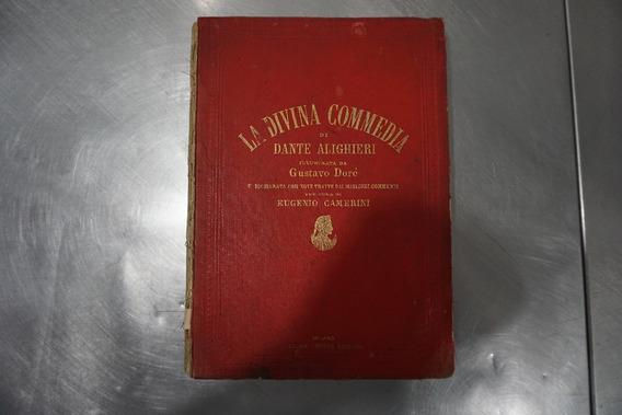 Livro Raro La Divina Commedia De Dante Alighieri