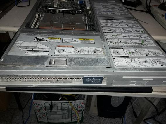 Servidor Sun X4100 4gb 02 Processador 02 Fontes C/defeito