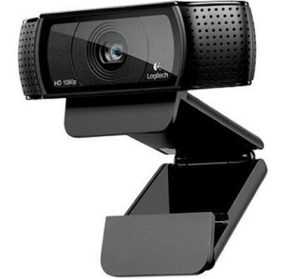Webcam Logitech C920 Pro Full Hd 1080p 15mp Nfe + Garantia
