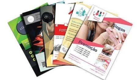 2000 Panfletos 10x15 + 1000 Cartões De Visita - Arte Gratis