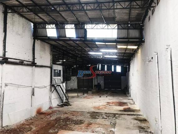 Galpão Industrial Para Locação, Aricanduva, São Paulo. - Ga0189