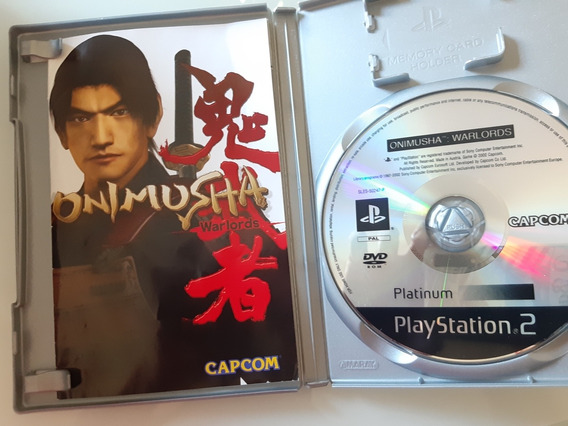 Onimusha Warlords Original Ps2 Europeu Pal
