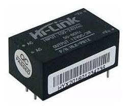 Mini Fonte Tensão Hlk Pm01 Ac Dc 220v 12v 3w (000451)