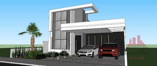 Casa Com 3 Dormitórios À Venda, 170 M² Por R$ 1.100.000,00 - Estância Hípica - Nova Odessa/sp - Ca2798